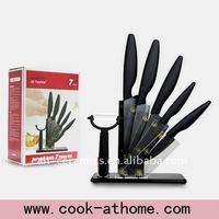 ceramic kitchen knives with acrylic block