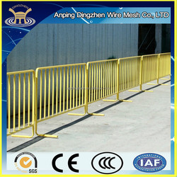 Concert Crowd Control Barrier/ Pedestrian Fence/ Temporary metal fence panel