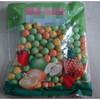 Sweet Medium Size Round Ball Bubble Gum in Bag