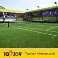 cor verde jardim artificial turf para o tênis