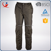 Customized size colorful breathable windproof men 100% polyester ski pants