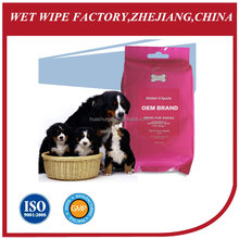 2014 new pet dog products disposable Pet bathing cleaning wet wipes/towels/tissues antibacterial pet wipes ,pet wet wipes