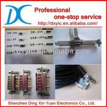 Amphenol 17EBH-015-P-AM-0-10 CONN HD DB15 PLUG R/A GOLD PCB CONNECTOR