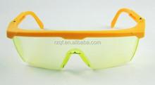 L'utilisation de dame jaune meilleur vente effacer lunettes de sécurité / lunettes de sécurité pour utilisation de nuit