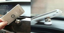 Stainless steel mobile phone wall holder