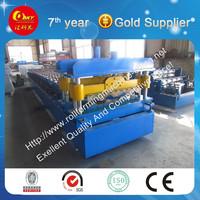 Hebei Glazed Galvanised Iron Roof Step Tile Making Machine New Product