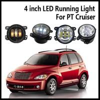 Factory Direct 4inch LED Running Light for jeep wrangler/PT cruiser