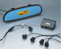 Car reverse parking sensor system with mirror system