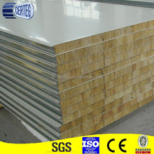 cheap Roof Rock Wool Sandwich Panel for wall structural steel best selling products
