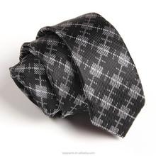 New Classic 960 Needle JACQUARD Plaid 100% Silk Men's Tie Necktie