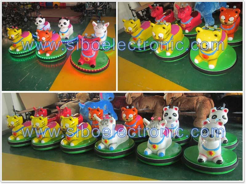 Gm59 animados moving animal de brinquedo, electric passeio em animais, macaco passeio animal para shopping