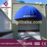 Half-round French Style Window Awnings, Aluminum Dutch Canopy