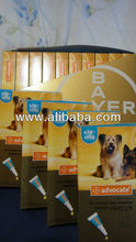 Advocate for Medium Dogs 4-10kg 3tubes/1box