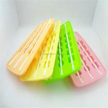 Silicona Minifigures y ladrillos de construcción de hielo moldes para hacer velas, caramelo, jabones y cubos de hielo