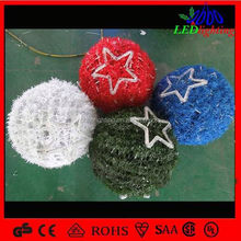 Rgb Waterproof Led Ring Light Led Ball christmas led light balls Modern Outdoor Hanging Christmas Ball