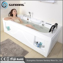 Hot Sale Massage White Acrylic Small Cheap Feestanding Bathtub