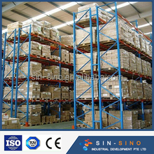 free designed heavy duty pallet rack for industrial warehouse storage