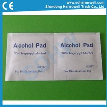 Best price One-off use sterile medical alcohol pad