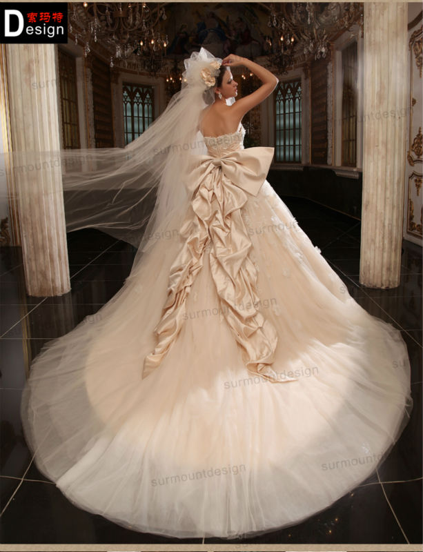 Turmec big ball gown wedding dresses for sale for Wedding dresses for sale by owner