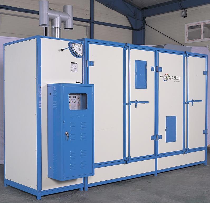 Industrial bandeja de secador, Secador de gabinete para alimentos por LPG / quemador de aceite