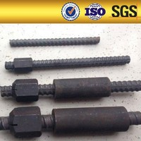 sampled alloy steel hot rolling psb 1080 MPa 20mm 25mm expansion type anchor bolt for prestressing beton anchorage