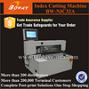 Safety cover High-accuracy steel rod die cutting pressing index tab machine