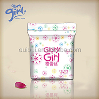 Best sale belted korean colour sanitary pad with negative ions