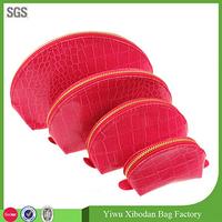 4 in 1 Snake Skin Print Leather Bag Set - for Travel Bag / MakeUp Bag/ Cosmetics Bag