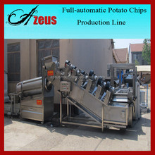 Top Quality Full Automatic Potato Chips Making Machine Price