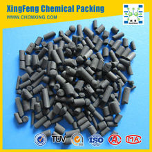 Activated carbon for air and gas treatment