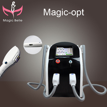 The factory low price promotions (Magicbelle)!!! professional SHR machine/OPT beauty equipment for hair removal
