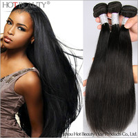 Wholesale 100% Human Hair Straight Wave,Good Quality Unprocessed Virgin Peruvian Straight Hair