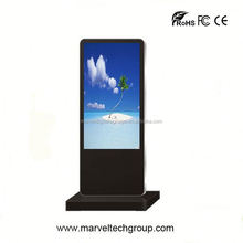 Stand alone indoor wireless wifi lcd advertising panel naked eye