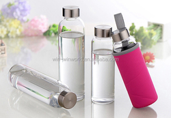 New Design Bpa Free Sport Water Bottle With Screw Lid