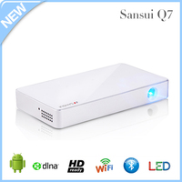 Newest !!! Portable DLP Led Mini pico Mobile projector with android wifi wireless miracast DLNA bluethooth USB,