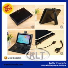 11.6 inch tablet pc leather keyboard case for window 8.1 with touchpad via pogo pin