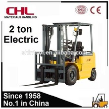 Reliable 2.0 Ton Electric Forklift with Curtis Controler for Sale