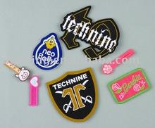 bordado de insignias de las etiquetas