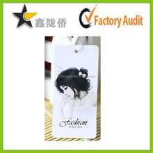 2014 Customized High Quality Garment Hang Tags Design