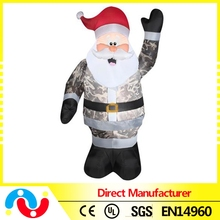 Hot sale Cheap Inflatable Santa/Christmas Tree Decorations for 2015 Christmas