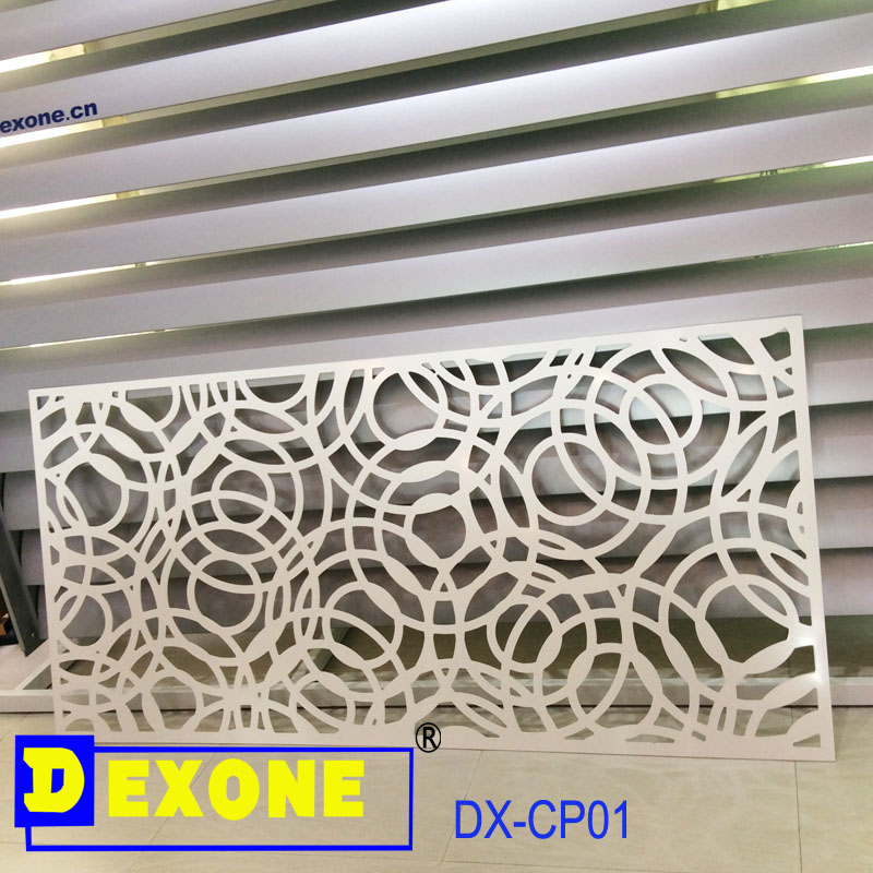 Cnc aluminum decoration panel for exterior cladding view for Aluminium decoration
