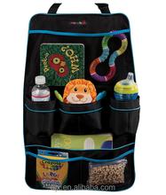 Space Saving Backseat Car Organizer /car hanging pocket/Multi-functional backseat car organizer with CD holder drink pocket