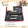 3 pieces high quality dog grooming scissor set