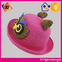 2015 summer new children paper hat with animal