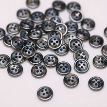 12 mm shirt small pearl buttons men's shirts button clasp pants like shell resin UV buttons