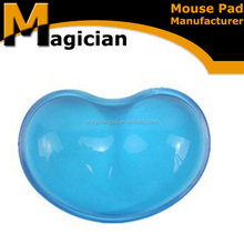 Gel mouse pads with wrist rest for promotion gifts
