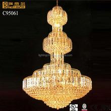 Crystal creative led chandelier light