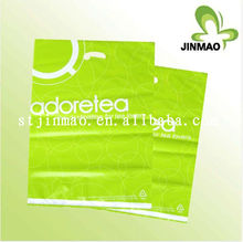 Colorful Handle Shopping die cut plastic bag