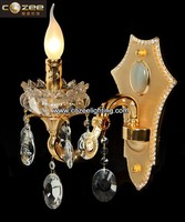 Modern Crystal Zinc Alloy Chandelier Wall Sconce Lamp Light Lighting Fixture Wall Mounted Decor CZ032/1