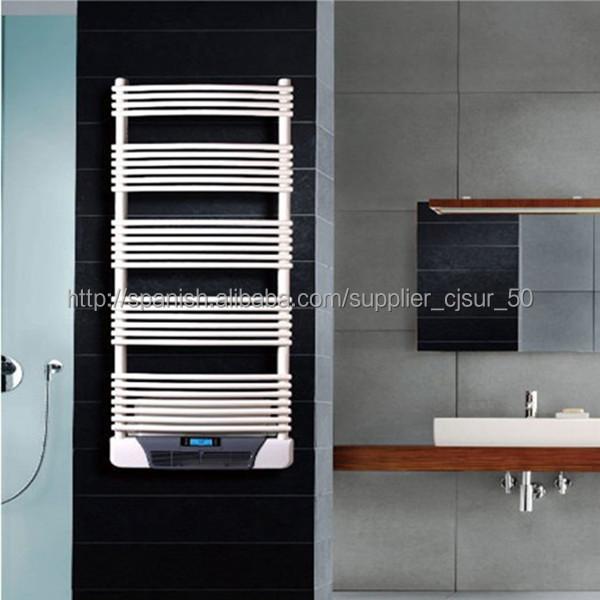Modern Decorative Electric Wall Mounted Bathroom Fan Heater Towel Radiator